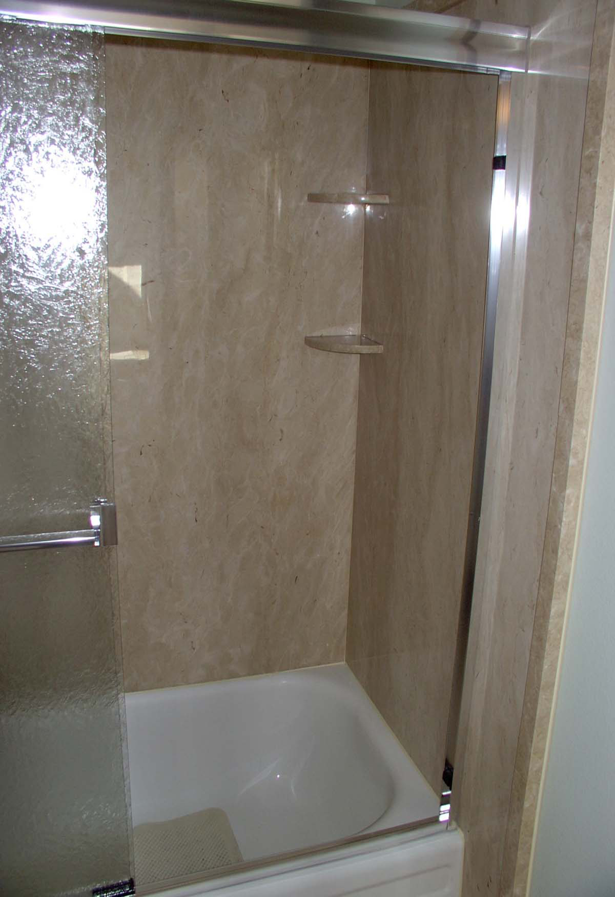 bathroom tile surround thin panels shower surrounds interior walls 11713